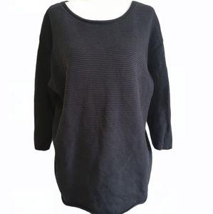 Wilfred Free ribbed 3/4 sleeve sweater Aritzia